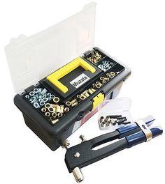 Muzata 465Precise Blind Rivet Nut Kit Set, Riveter Tool, Rivet Nut Gun #Muzata