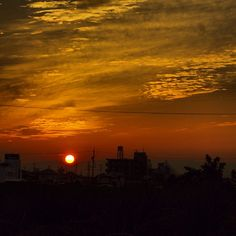 秋の夕陽は物悲しひね。 - @kkharry- #webstagram