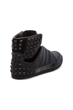 adidas Y-3 Yohji Honja High: Black studded