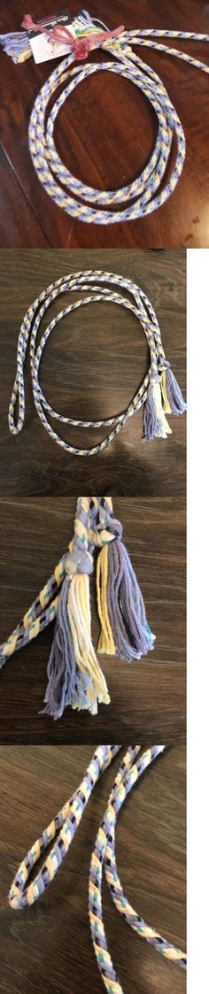 Reins 183415: Colorful Cowgirl Buckaroo Vaquero Cotton Reins Or Get Down Rope -> BUY IT NOW ONLY: $50.15 on eBay!