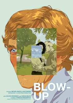 """Blow Up"" film poster by Tomer Hanuka (for Now Showing - an exhibition exploring the lost art of the film poster.)"