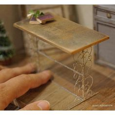 2017.11 Miniature Antique Table ♡ ♡ By Mio Meet