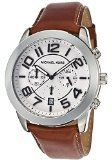 Michael Kors Mens MK8323 Mercer BrownSilver Genuine Leather Watch ** Want to know more, click on the image.