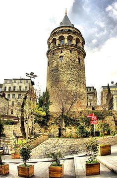 Galata Tower Istanbul...//