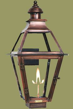 Shop your premier on-line source for Gas and Electric Copper Lanterns by The CopperSmith. Looking to buy copper gas or copper lighting by The CopperSmith? & Weiyan LED Gas Flame Simulator by The CopperSmith. Shown here in ... azcodes.com