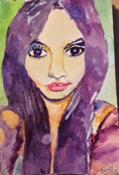 Sketchy #805: Elizabeth Llerena by Donna Weston