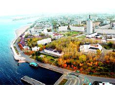 Архангельск - город на севере европейской части России