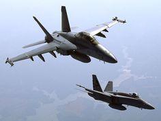 F-18 Super Hornets