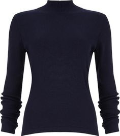 Phase Eight Rita Zip Back Knit. A cosy turtle neck jumper with long sleeves and an exposed zip detail on the back. #Phaseeight #Sweaters #Jumpers #PhaseEight #Women #fashion #obsessory #fashion #lifestyle #style #myobsession #winterfashion #womensfashion #salefashion #affordable fashion