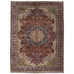2019 Latest Design On Sale Beautiful Hand Knotted Persian Area Rug Geometric Carpet 2'x2' Antiques