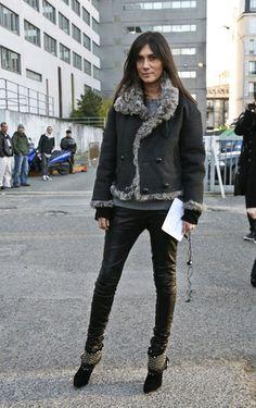 Emmanuelle Alt Street Style Pictures