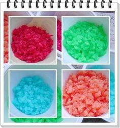 Zucchero in granella colorato: come realizzarlo