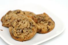 These chocolate chip cookies are absolutely amazing.  I refuse to bake or eat any other.  The browned butter is the secret--it creates a very complex toffee/nutty flavor.  Try them once,and you'll never go back to your family recipe again!