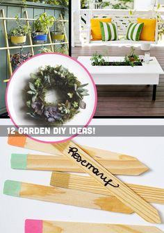 DIY-ify: 12 Garden DIY Ideas for Spring! bhg.com