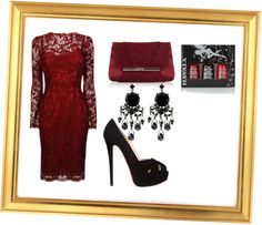 """""""Christmas party outfit"""" by stefaniejoseph on Polyvore"""