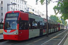Köln, Neumarkt, KVB Flexity Swift Tram Lijn7