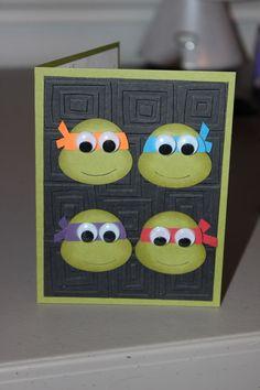 Teenage Mutant Ninja Turtle Card