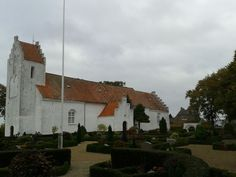Small churches of Denmark   Small church on Funen - typical Danish village style