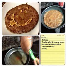 Sascha Barboza @Sascha Schneider Schneider Barboza 11h Tambien pueden cenar tortilla de huevo achocolatada , suena raro, pero antes de decir que no PRUEBALA