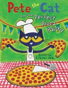 """Read """"Pete the Cat and the Perfect Pizza Party"""" by James Dean available from Rakuten Kobo. A groovy New York Times bestseller! From the bestselling Pete the Cat series, it's a groovy pizza party that you don't w. National Book Store, Pete The Cats, Pizza Cat, Perfect Pizza, Perfect Party, New Children's Books, Cat Birthday, Cat Party, Cool Cats"""