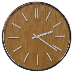 1970s Peter Pepper Products Wall Clock #1960s #midcentury #map #wood #clock #modern (via @1stdibs)
