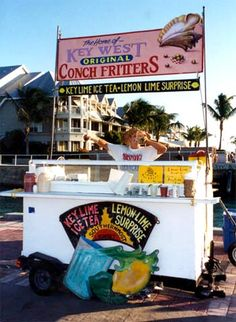 Key West Conch Fritters Mallory Square #MarriottCourtyardKeyWest #DreamKeyWestVacation