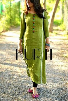 KURTI presents beautiful dresses for girls by keeping in mind the latest trends and growing needs of fashion. Check out what Kurti presents for you. Indian Attire, Indian Wear, Indian Dresses, Indian Outfits, Churidar Designs, Kurti Collection, Summer Collection, Mode Hijab, Indian Designer Wear