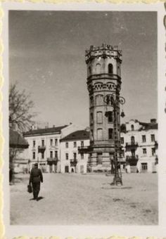 German troops in Lublin Poland 1939 German Architecture, My Kind Of Town, World Photo, Water Tower, Eastern Europe, Big Ben, Towers, Troops, Ww2