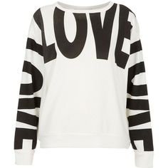 5b92161a57 Love Sweat - Jersey Tops - Clothing - Topshop on Wanelo