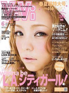 Namie Amuro 安室奈美惠 @ 「ViVi」2013年6月號