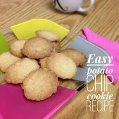 National Cookie Month: Easy Potato Chip Cookie Recipe... super tasty dessert with salty + sweet!