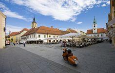 Varazdin, Croatia #Vespa #ridecolorfully