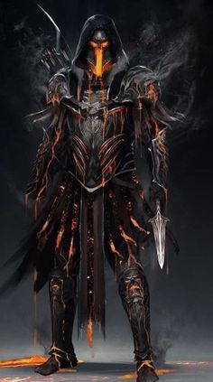 Dark Fantasy Art - Trend in 2020 Dark Fantasy Art, Foto Fantasy, Fantasy Armor, Fantasy Character Design, Character Art, Character Concept, Arte Assassins Creed, Arte Dark Souls, Fantasy Monster