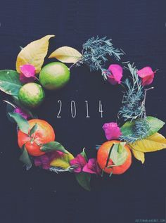 for a beautiful and bountiful 2014| Justina Blakeney