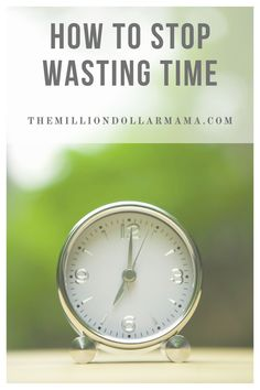 If you're tired of being inefficient and wasting your day, learn how you can stop wasting time with just a few simple steps! A list of tips and tricks to help you regain your time and become more efficient! Stop Wasting Time, Social Media Detox, Habits Of Successful People, Personal Development Books, Time Management Skills, Changing Jobs, Change Your Mindset, Healthy Lifestyle Tips, Work Life Balance