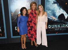 Kathie Lee Gifford Photos - Television hosts Sheinelle Jones, Hoda Kotb and Kathie Lee Gifford attend the Warner Bros. Pictures 'DUNKIRK' US premiere at AMC Loews Lincoln Square on July 18, 2017 in New York City. / AFP PHOTO / ANGELA WEISS - 'DUNKIRK' New York Premiere Sean Diddy Combs, Female News Anchors, Kathie Lee Gifford, Hoda Kotb, Lincoln Square, The Beverly, Aging Gracefully, Warner Bros, Pictures