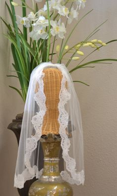 First Communion Veil Communion Veil Holy by CouturesbyLaura