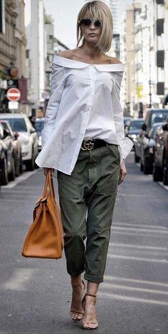 Bukser og jeans til store kvinder Køb online her Bukser og jeans til store kvinder Køb online herPalazzo Femme Shirt in Gelb – Mode Outfits, Chic Outfits, Fall Outfits, Fashion Outfits, Womens Fashion, Fashion Ideas, Heels Outfits, Elle Moda, Look Fashion