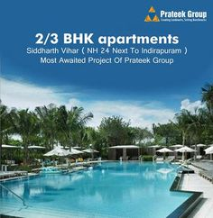 Take advantage of the 2BHK in Prateek Grand City Indirapuram at unbelievable location and price is definitely the best gift that you can imagine. For booking flats visit http://www.prateekgrandcitynh24.com or call at +91- 9999977719