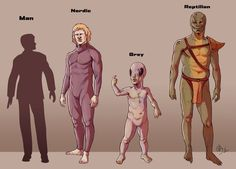 Alien Races and Civilizations which have visited Earth Among them, the Zetans, or Greys from Zeta Reticuli; the Maitre - ugly insect-like warriors; the Annunaki - Reptilians who created the human race, shape-shifting blood drinkers possibly the Egyptian gods; and the Nordics - Pleiadians from the planet Asgard, human like with blond hair blue eyes