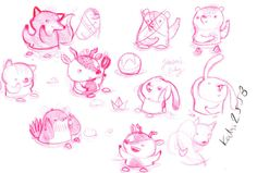 Johnson & Johnson Baby productsConcepts #sketch #illustration