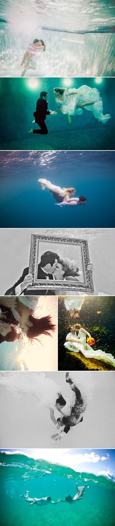 Talking about unique and creative ideas for engagement photos, there is a new trend that has to be seen to be believed – underwater engagement photos. When it comes to your wedding, the bottom line is having fun. Whether at the actual ocean or jumping into your backyard pool, underwater engagement photos really show a …