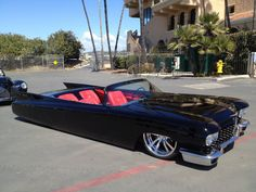 Cadillac - Vehicles - Carzz - Cadillac, Red Interiors and Cars and motorcycles Cadillac Ats, Cadillac Eldorado, Hot Rods, Carros Low Rider, Dream Cars, Vintage Cars, Antique Cars, Design Garage, Automobile