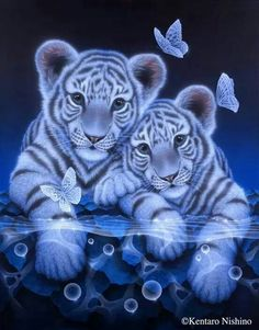 If Ren and Kelsey's kids could turn into tigers!