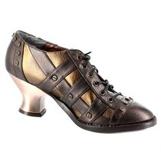 LOVE these - and yes, they are quite comfy. Just make sure you buy replacement laces when you get them. They break QUICKLY.    Metropolis Shoes JADE Steampunk Shoes