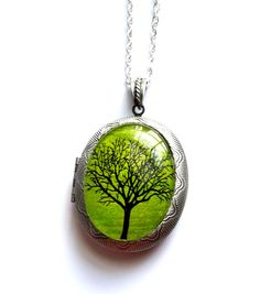 Hey, I found this really awesome Etsy listing at https://www.etsy.com/listing/173763747/emerald-eternity-tree-locket-pendant-in