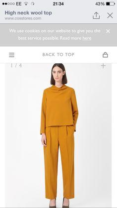 AW/14 COS PERFECTION #orange #wool