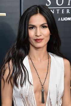 For Elodie Yung, Playing Elektra On Netflix's 'Daredevil' Is a Dream Job Elodie Yung, Long Red Hair, Super Long Hair, Dark Hair, Brown Hair, Beautiful Celebrities, Beautiful Actresses, Gorgeous Women, Most Beautiful