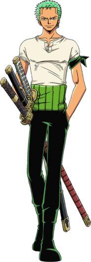 Roronoa Zoro! I love One Piece like you have no idea!