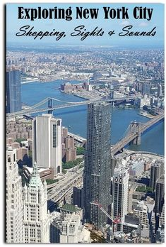 Exploring New York City: Shopping, Sights, and Sounds - Postcards & Passports New York City Shopping, Visit New York City, New York Travel Guide, New York City Travel, Canada Travel, Travel Usa, New York Library, The Freedom Tower, City Icon